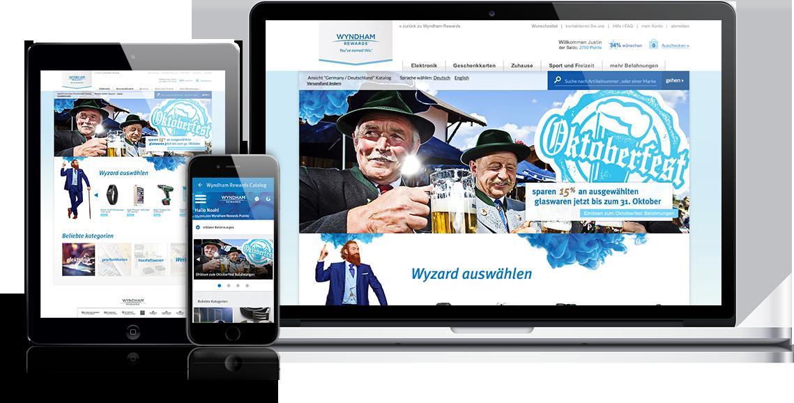 Wyndham Responsive Site